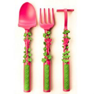 Garden Fairy 3-piece Cutlery Set