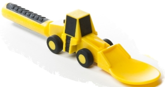 construction - front end loader spoon