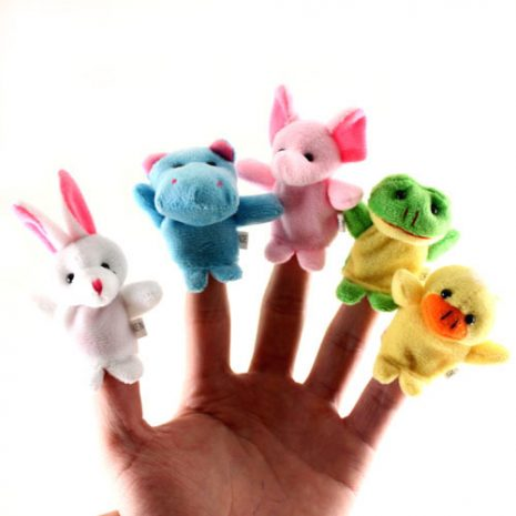 finger puppet small group