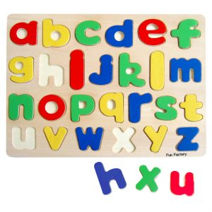 Lower Case Alphabet Puzzle