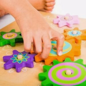 Wooden Spinning Gears