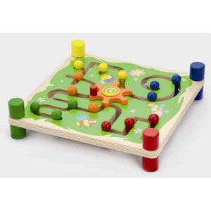 Wooden Track and Trace Maze
