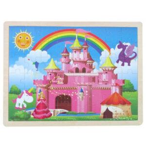 Large Wooden Fairy Castle Jigsaw