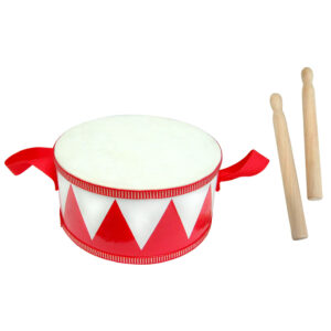 Wooden Musical Drums 20cm