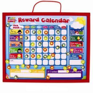 Wooden Magnetic Reward Calendar