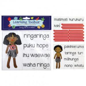 Magnetic Maori Body Parts