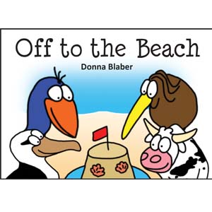Kiwi Critters Books - Off To The Beach
