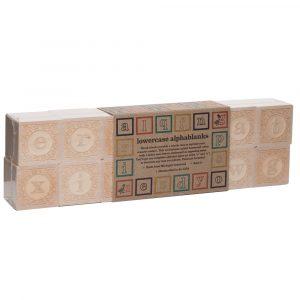 Wooden Alphabet and Number Blocks Bundle 3 Pack