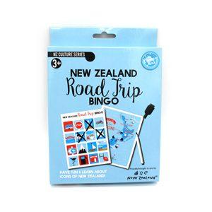 New Zealand Road Trip Bingo Game