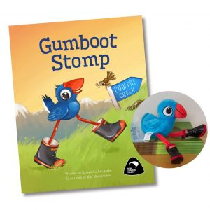 Gumboot Stomp Book and Plush Toy