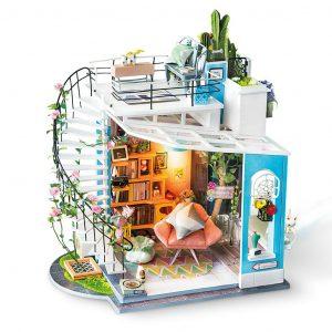 Doras Loft Wooden DIY House