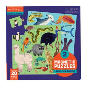 Land and Sea Animal Magnetic Puzzle