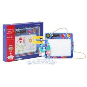Doodle Robot Magnetic Drawing Board