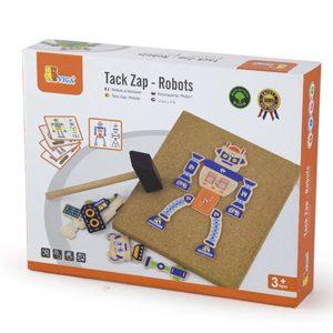 wooden tap tap robot set box