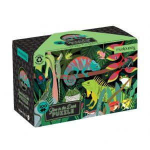 Frogs and Lizards Glow In The Dark Puzzle 100pc