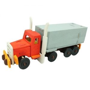 Wooden Truck Painting 3D Puzzle