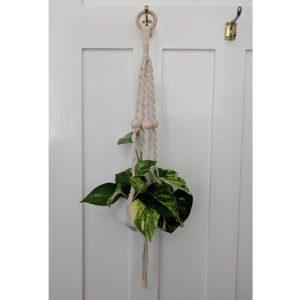 make your own macrame plant hanger diy craft kit