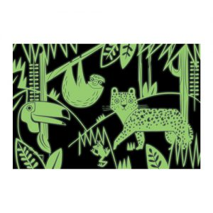 Rainforest Glow in the dark Puzzle 100pc GITD