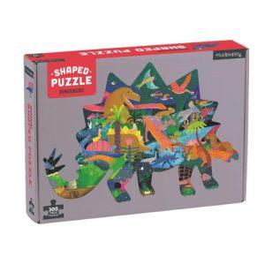 Dinosaurs Shaped Scene Puzzle