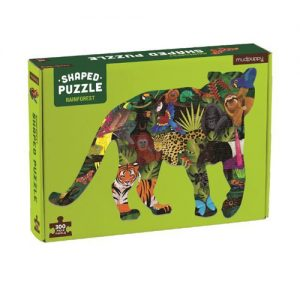 Rainforest Shaped Scene Puzzle