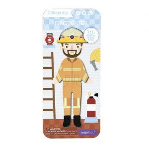 Magnetic Dream Big Firefighter