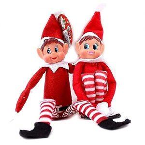 Christmas Naughty Elf and Elvie