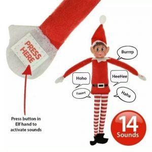 Talking Christmas Naughty Elf