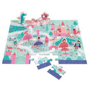 Enchanting Princess Puzzle Playset