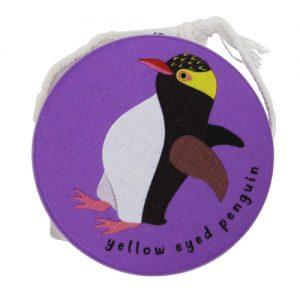 yellow eyed penguin wooden yoyo
