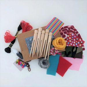 Make Your Own Peg Dolls DIY Craft Kit