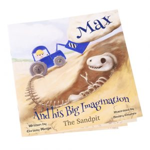Max and his big imagination - the sandpit