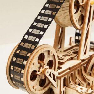 Wooden 3D Mechanical Vitascope