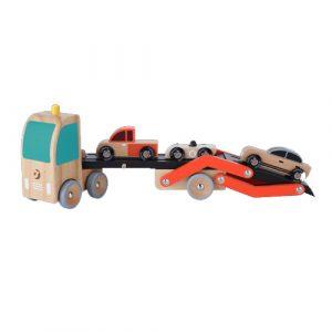 Wooden Double Decker Car Carrier