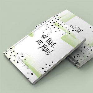 be true be you mini gratitude journal