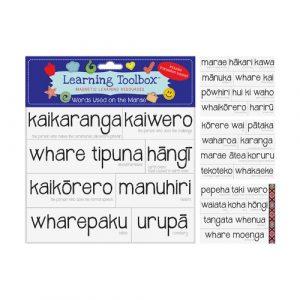 magnetic maori marae words