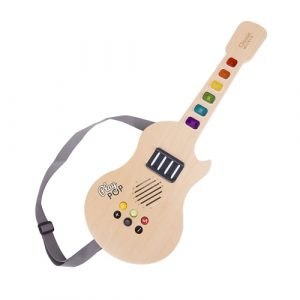 Wooden Electric Glowing Guitar
