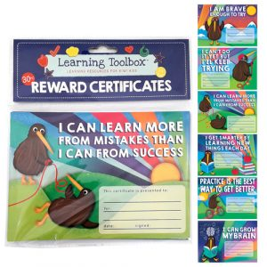 Kiwi Birds Reward Certificates