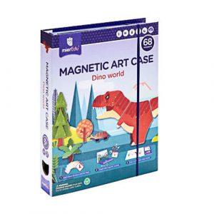Magnetic Art Case Dino World