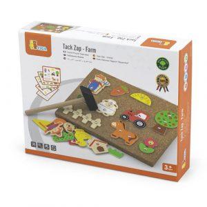 Wooden Tap Tap Farm Set