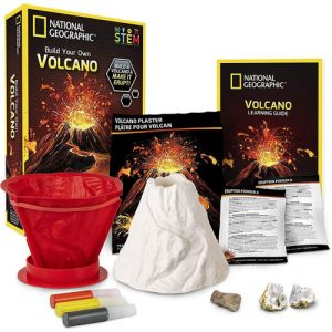 build your own volcano stem kit contents