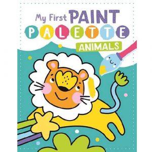 My First Paint Palette Animals