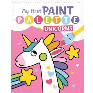 My First Paint Palette Unicorns