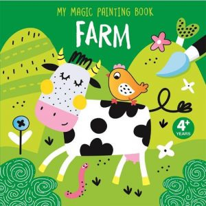My first magic painting book farm
