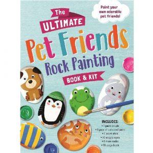 Pet Friends Rock Painting Book & Kit