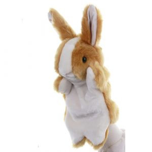 Brown Rabbit Hand Puppets - large