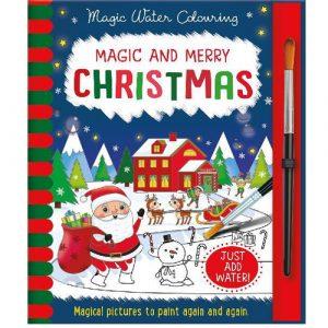 Christmas Magic Water Colouring Book