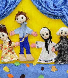 How to Make a Puppet Theatre at Home