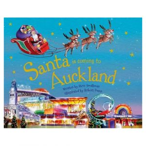 Santa is coming to Auckland book
