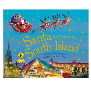 Santa is coming to The South Island book