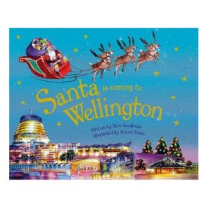 Santa is coming to Wellington book